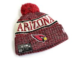 New Era Arizona Cardinals NFL Woolly Bobble Hat