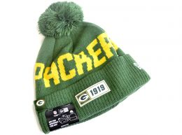 New Era On Field 19 Green Bay Packers NFL Knitted Bobble Hat