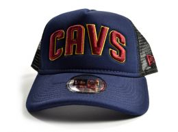 New Era Cleveland Cavaliers Team Trucker