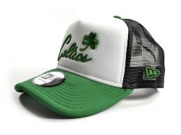 New Era Boston Celtics Trucker Cap