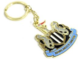 Newcastle United Crest Keyring