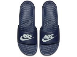 Nike Benassi Just Do It Sliders Navy