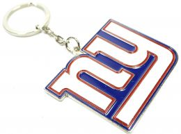 New York Giants NFL Crest Keyring
