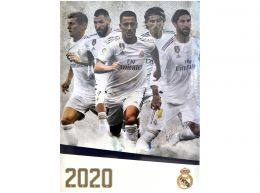 Real Madrid 2020 A3 Calendars