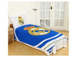 Real Madrid Pulse Single Duvet and Pillow Case Set