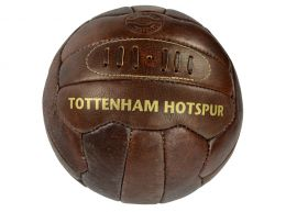 Spurs Retro Heritage Leather Ball Size 5