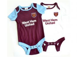 West Ham Two Pack Body Suit 2019 20