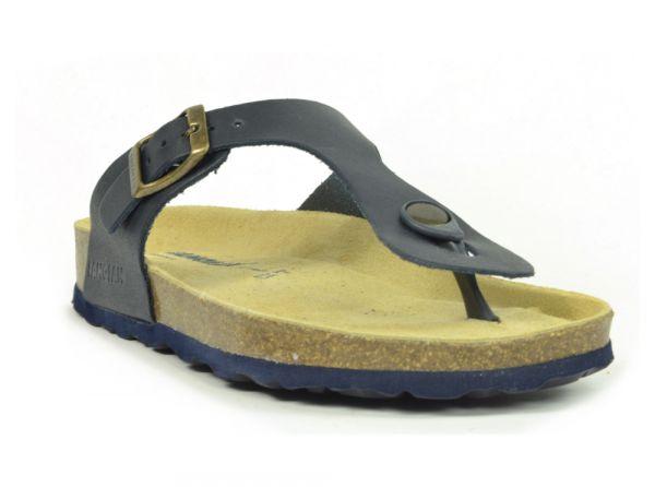 44a6877e1766ec Sanosan Geneve Leather Black Womens Designer Thong Sandals