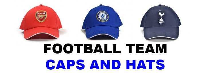 Football Team Caps
