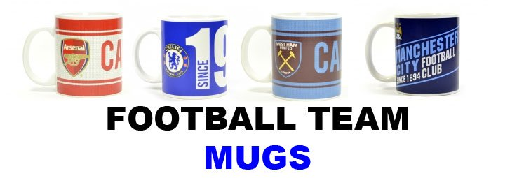 Football Team Mugs