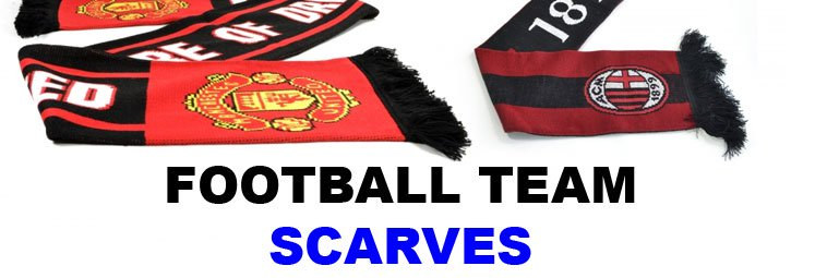 Football Team Scarves